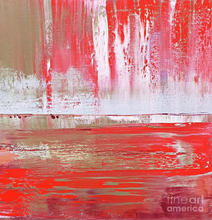 Ripples Of You Red by Tracey Lee Cassin