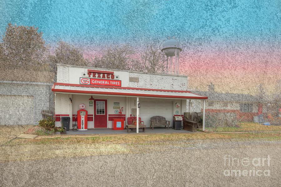 Hdr Digital Art - Risco Missouri  by Larry Braun