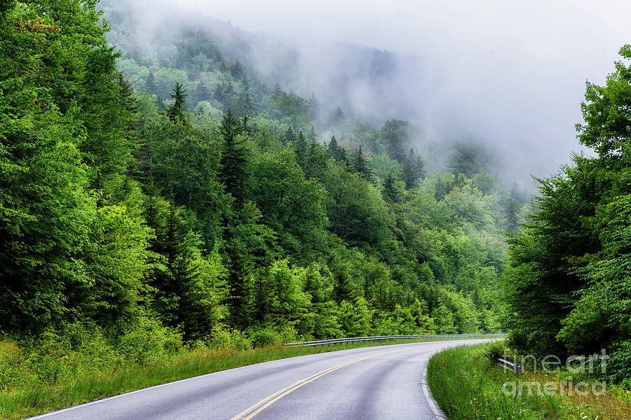 Rising Mist Highland Scenic Highway by Thomas R Fletcher