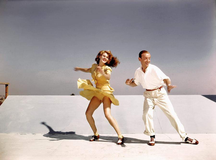 Rita Hayworth And Fred Astaire Photograph by Earl Theisen Collection