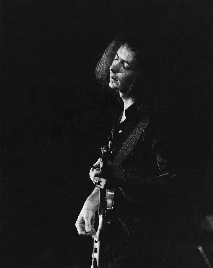 Ritchie Blackmore Photograph by Steve Morley