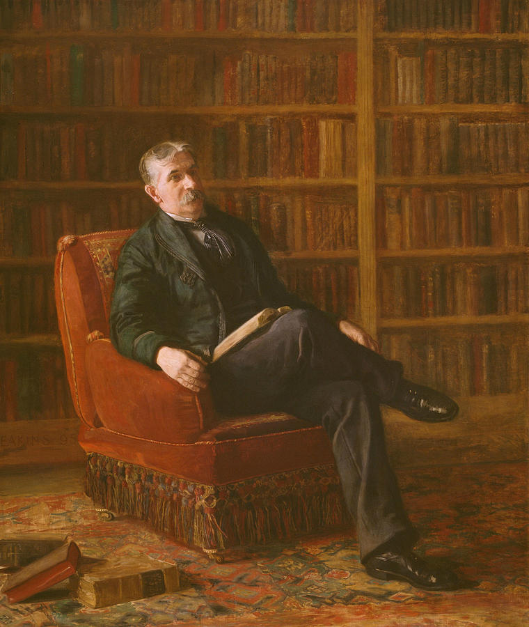Riter Fitzgerald by Thomas Eakins