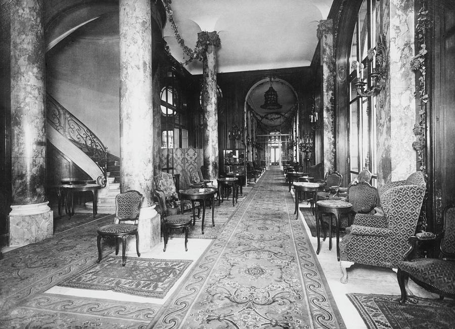 Ritz Interior Photograph by H. C. Ellis