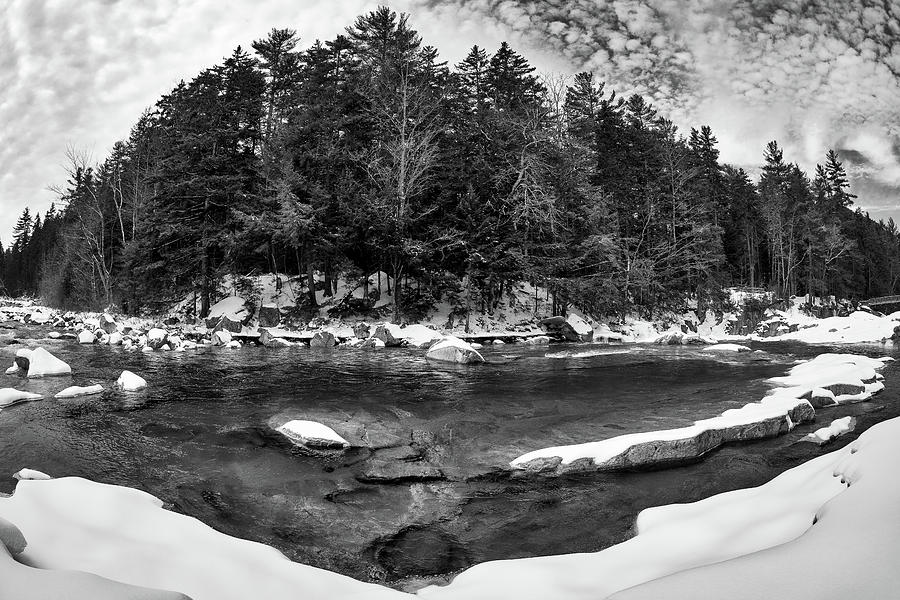 River Bend, Rocky Gorge 2 N H by Michael Hubley