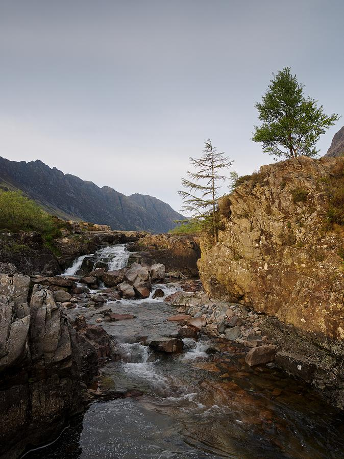 River Coe Falls by Stephen Taylor