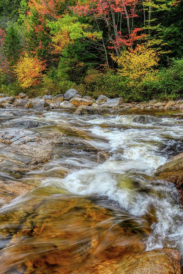 River Cross, Swift River NH by Michael Hubley