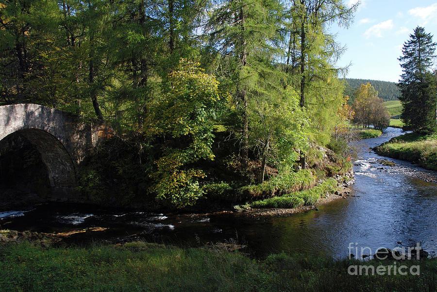 River Don at Poldullie Bridge by Phil Banks