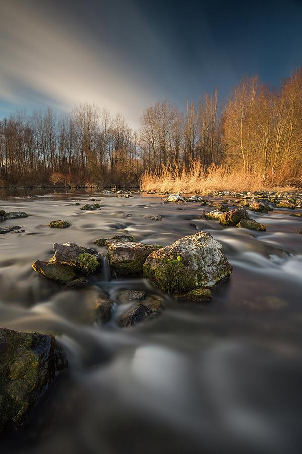 River Drava by Davorin Mance