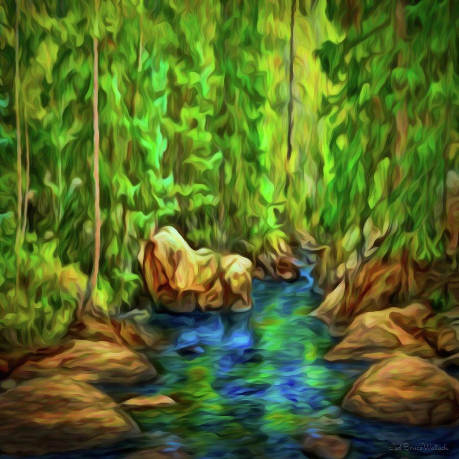 River Flow Dream by Joel Bruce Wallach