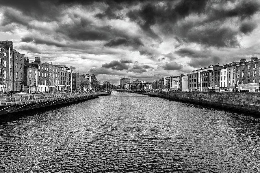 River Liffey, Dublin, Ireland by Wade Brooks