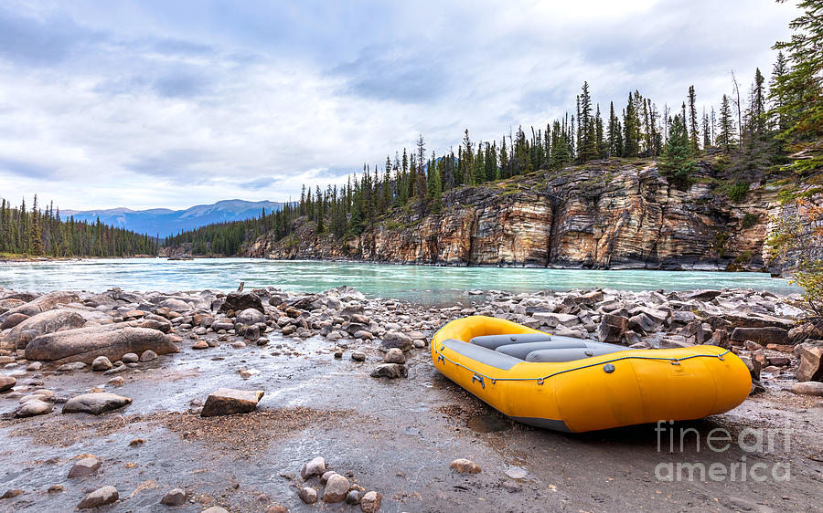 River Rafting by Alma Danison