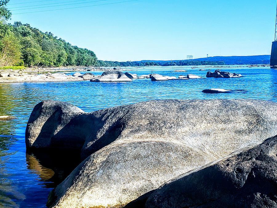 River Rock Formation  by Paul Kercher