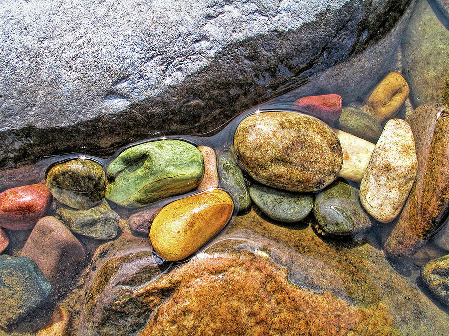 River Rock Melody Photograph