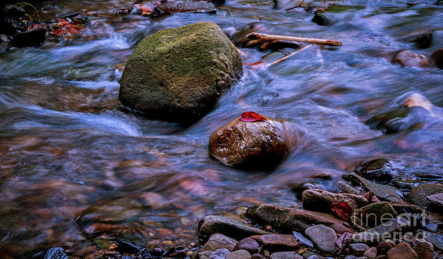 River rocks number two by Joseph Miko