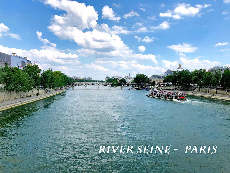 River Seine Paris by Charles Kraus