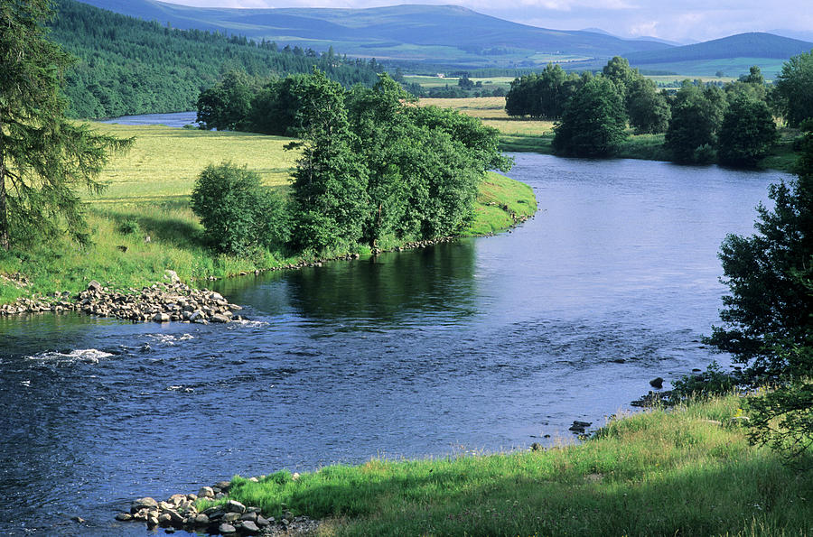 River Spey Near Grantown, Scottish Photograph by Neil Holmes