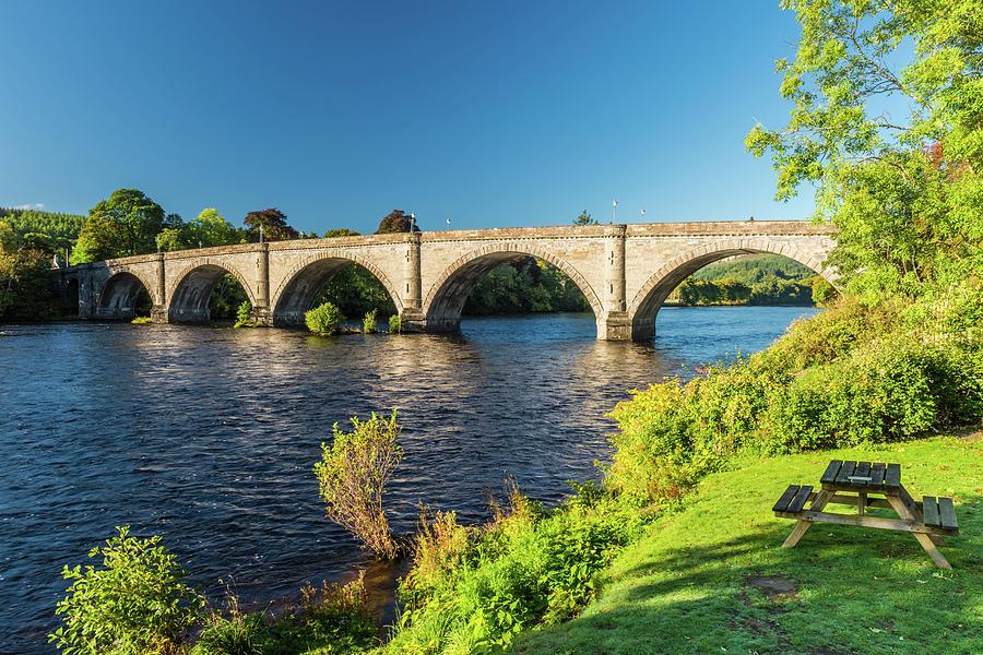 Dunkeld Photograph - River Tay, Dunkeld, Perthshire by David Ross