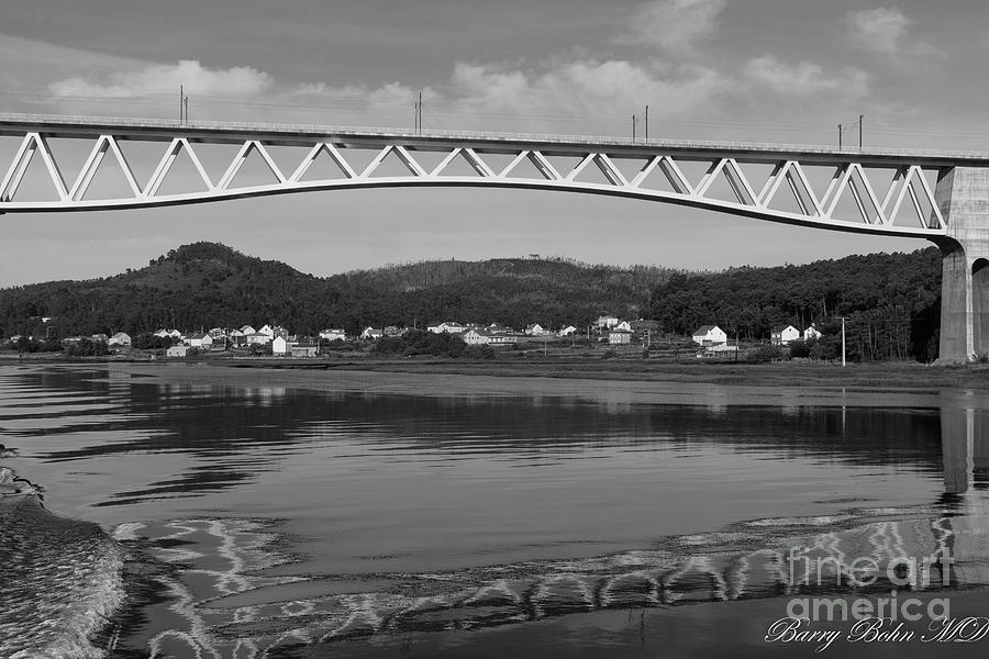 River view BW by Barry Bohn