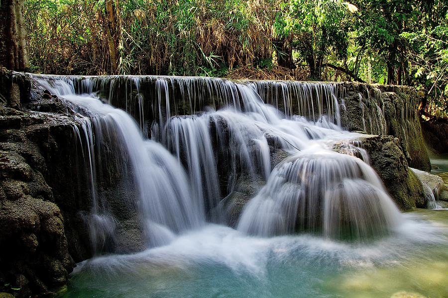 River waterfall by Top Wallpapers