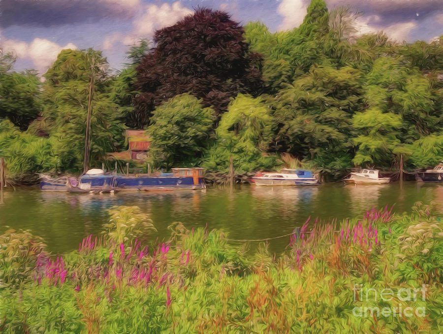 Riverbank by Leigh Kemp