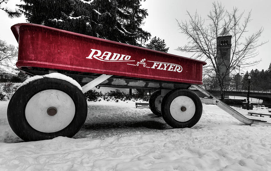 Riverfront Park Radio Flyer by Mark Kiver