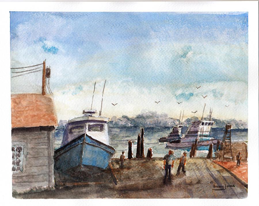 Riverside Dock by Barry Jones