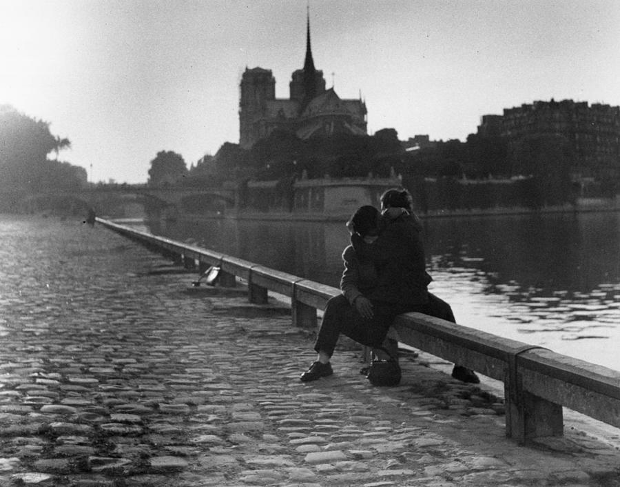 Riverside Kiss Photograph by Thurston Hopkins