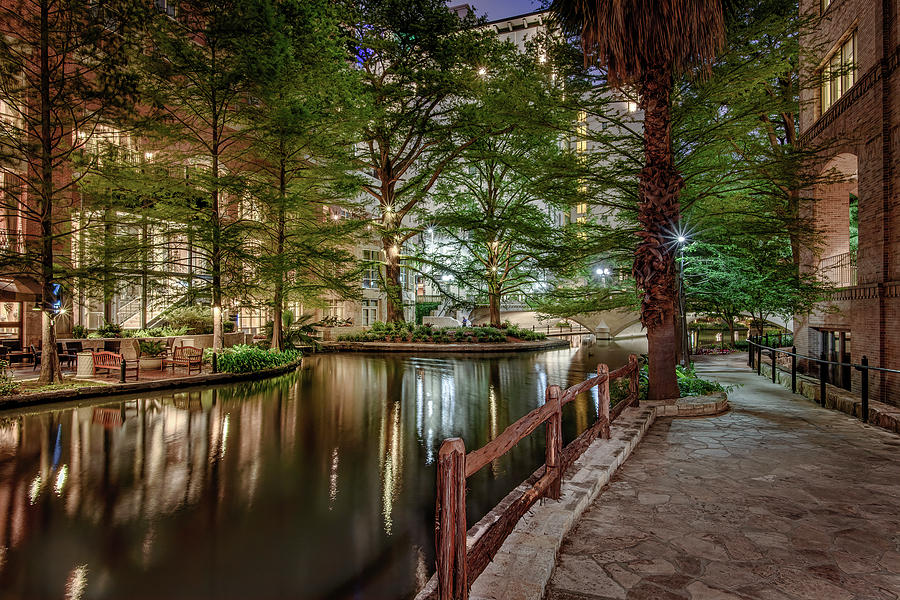 Riverwalk Early Morning I by Steven Sparks