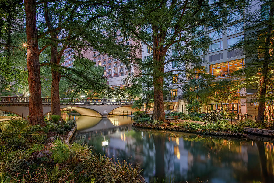 Riverwalk Early Morning II by Steven Sparks