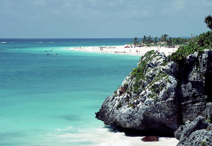 Riviera Maya Beach - Tulum Mexico 2 Photograph by Artedetimo