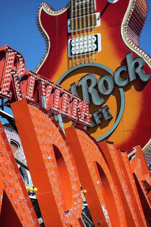 Neon Museum Photograph - Riviera Rock by Joseph Smith