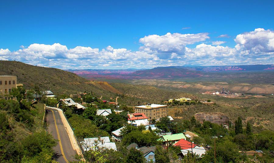 Road Through Jerome Arizona by Amy Sorvillo