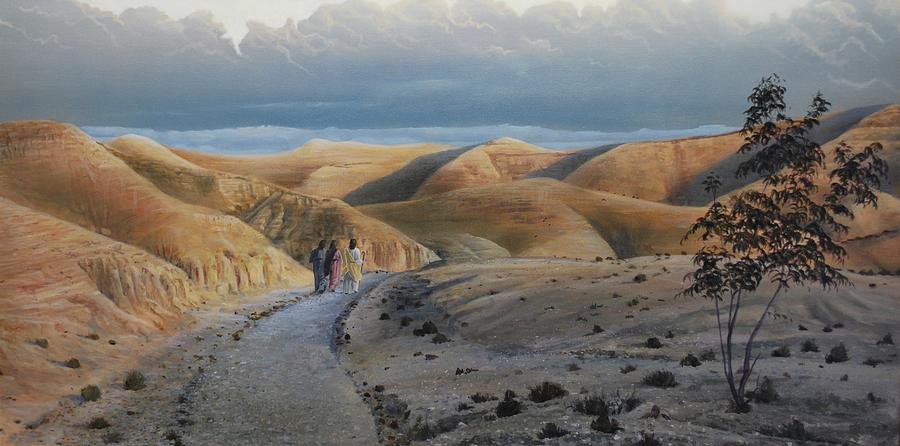 Road to Emmaus by Peter Mathios