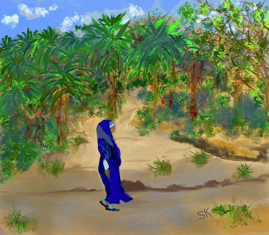 Road to Marrakkech by Sherry Killam