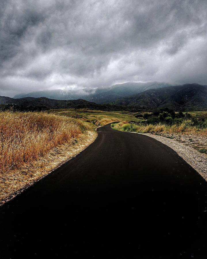 Winding Road Photograph - Road to Mt. Boney by John Rodrigues