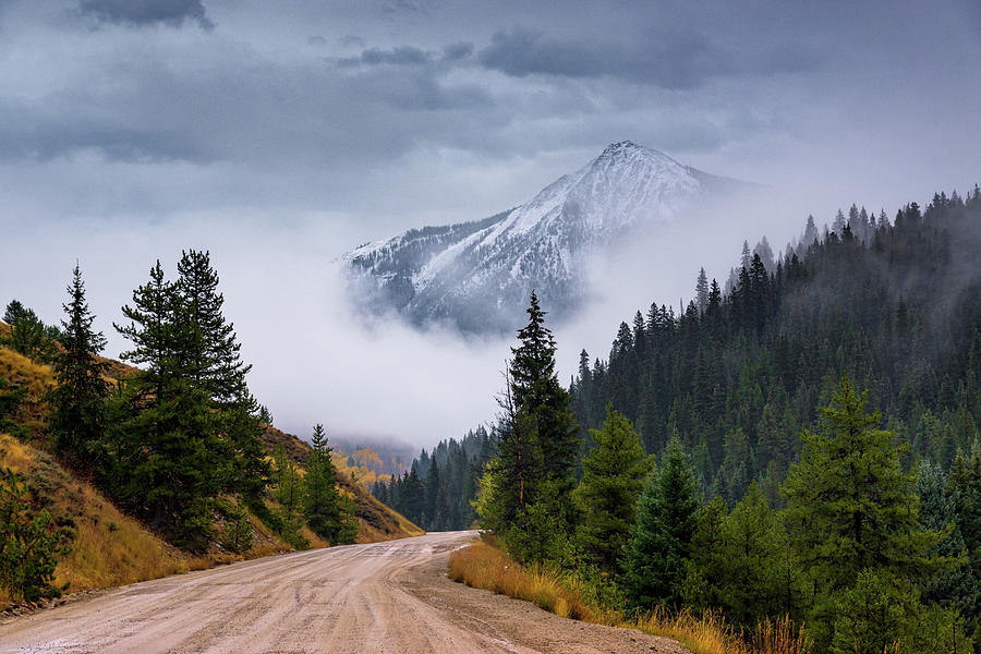 Road To The Clouds by John De Bord