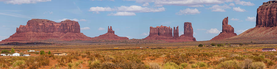 Monument Valley Photograph - Roadside Scene by Mike Herdering