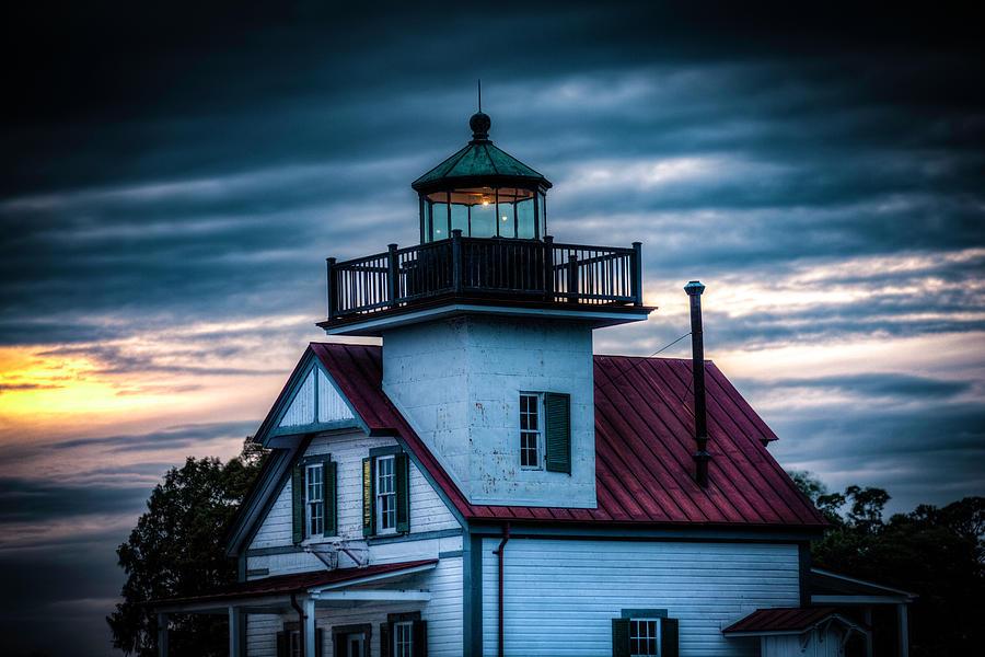 Roanoke River Light House 2 by Pete Federico