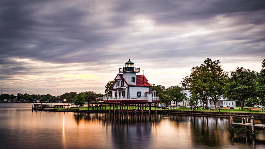 Roanoke River Lighthouse 1 by Pete Federico
