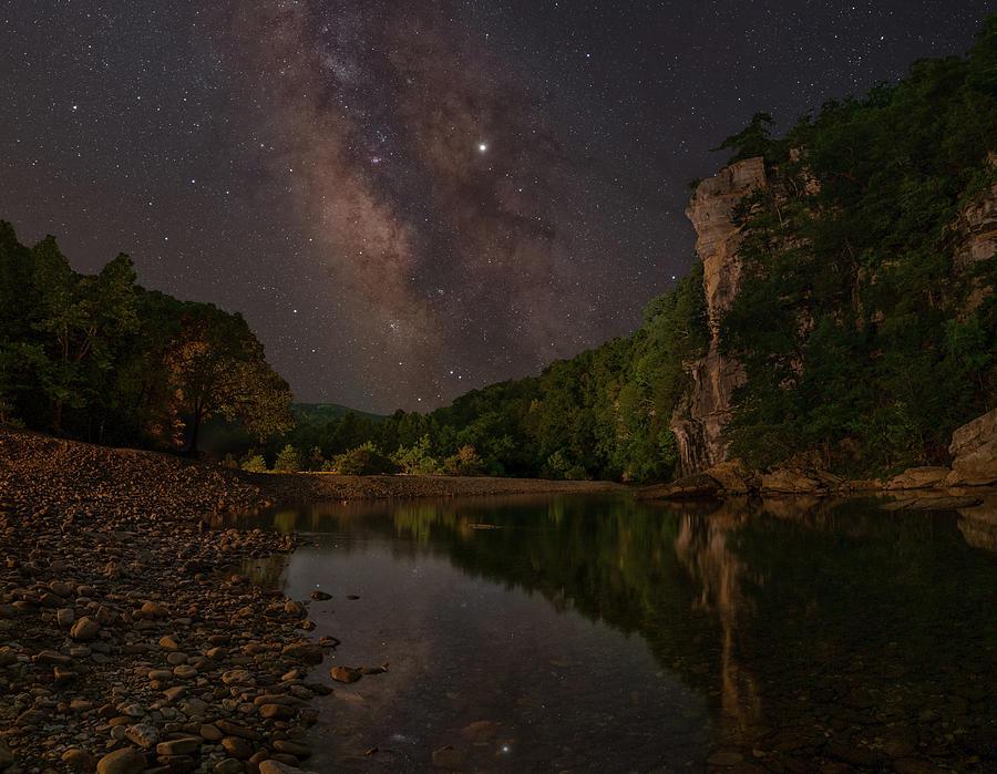 Roark Bluff at Steel Creek by Hal Mitzenmacher