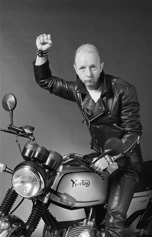 Rob Halford Photograph by Fin Costello
