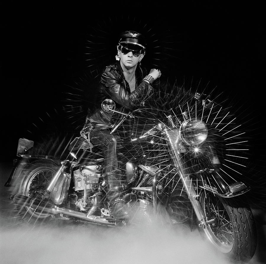 Rob Halford Posed Photograph by Fin Costello