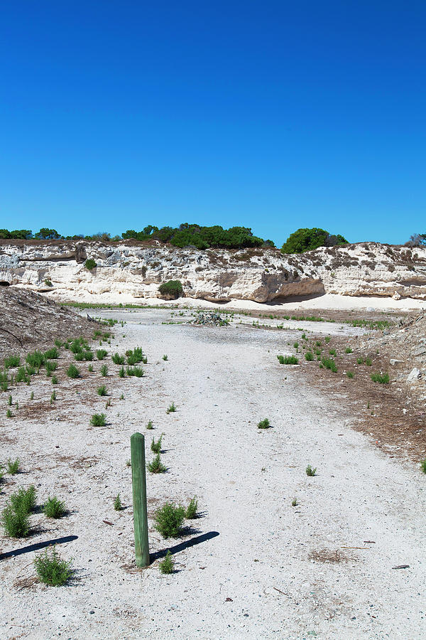 Robben Island Quarry Stone Pile Photograph by Iselin Valvik Photography