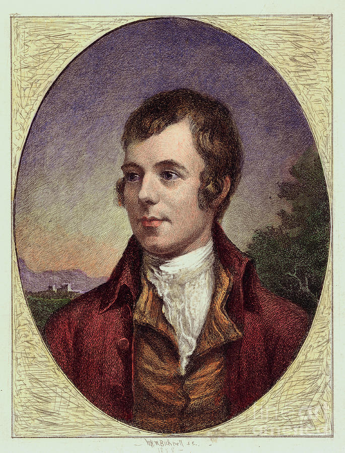 Robert Burns Engraving By William Harry Photograph by Bettmann
