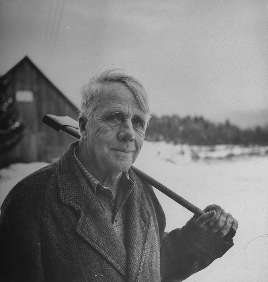 Robert Frost Photograph by Eric Schaal