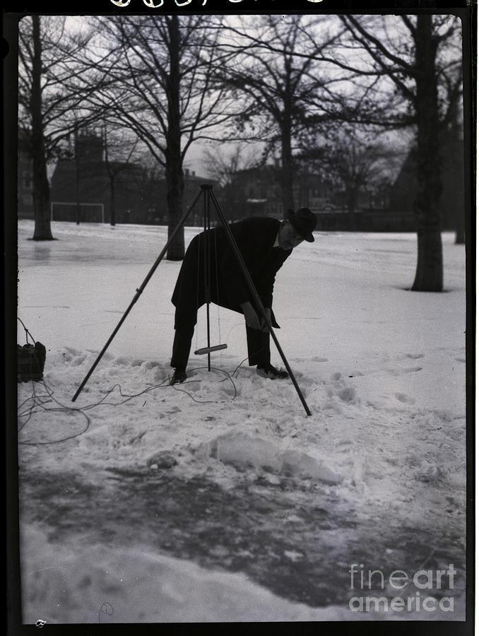 Robert Goddard Ignites Model Rocket Photograph by Bettmann