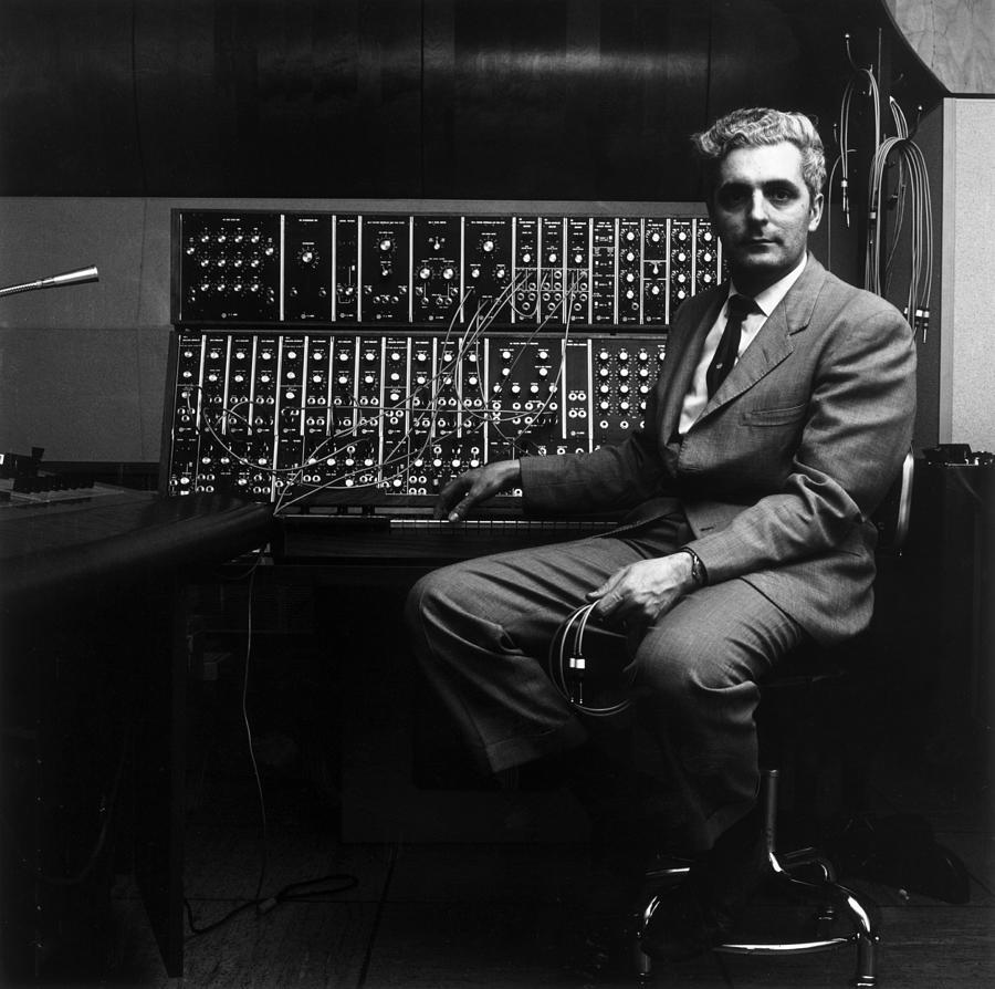 Robert Moog Photograph by Jack Robinson