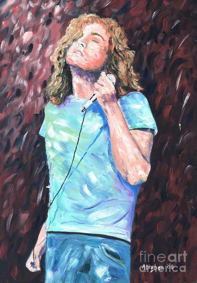 Robert Plant by Stanton Allaben