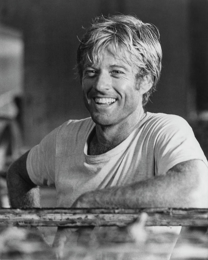 Robert Redford Photograph by Hulton Archive
