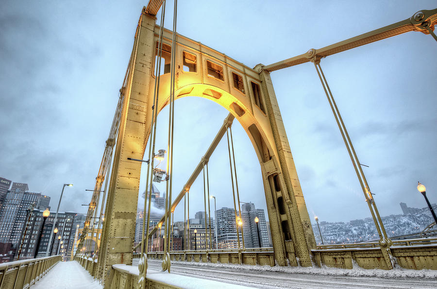 Roberto Clemente Bridge Photograph by Hdrexposed - Dave Dicello Photography